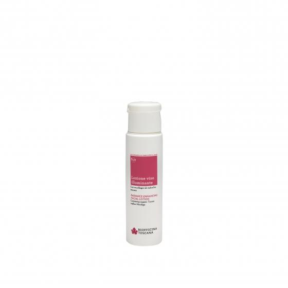 Radiance-enhancing facial lotion