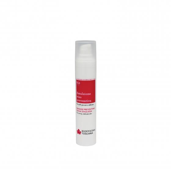 emulsione viso preventiva