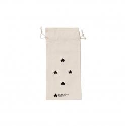 Organic cotton pouch small black