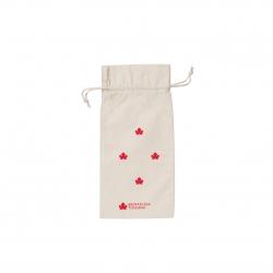 Sacchettino di cotone ecologico piccolo - stampa rossa