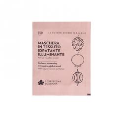 Radiance-enhancing-moisturising fabric mask