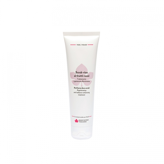 Red berry face scrub