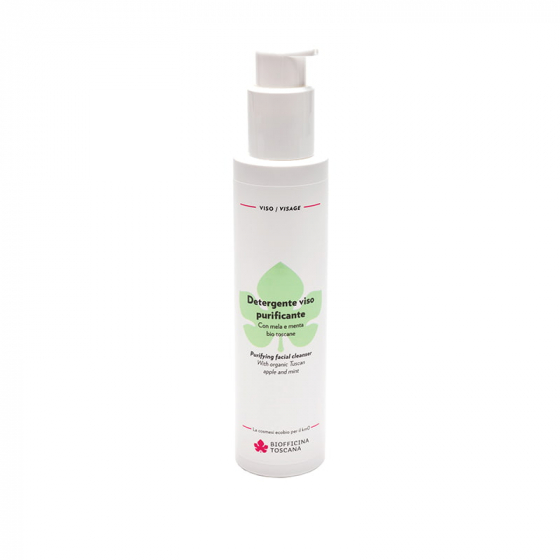Purifying facial cleanser