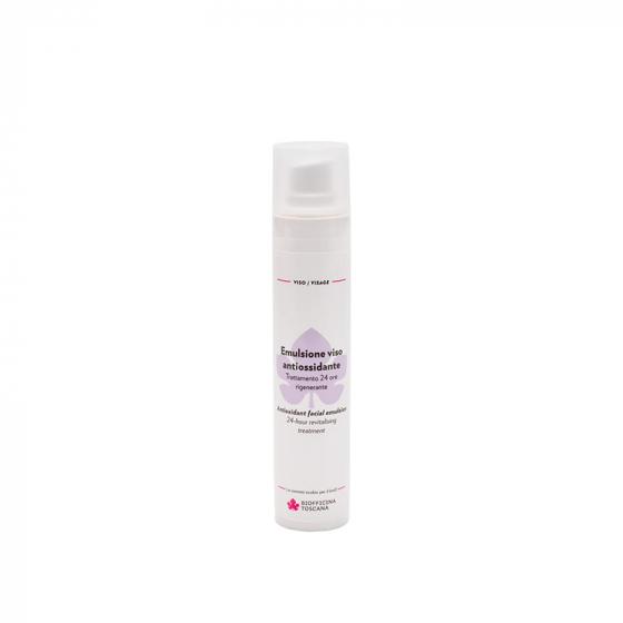 Antioxidant facial emulsion