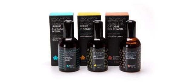 Profumatori tessuto e biancheria, un viaggio sensoriale in Toscana