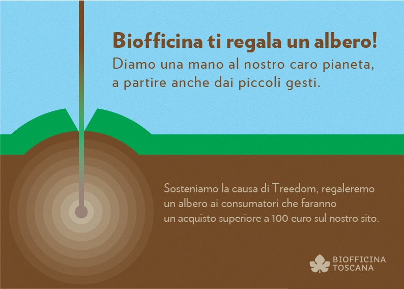 Biofficina ti regala un albero